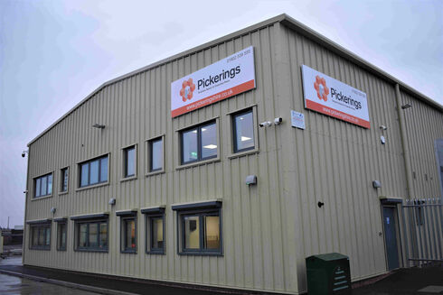 Pickerings opens new depot