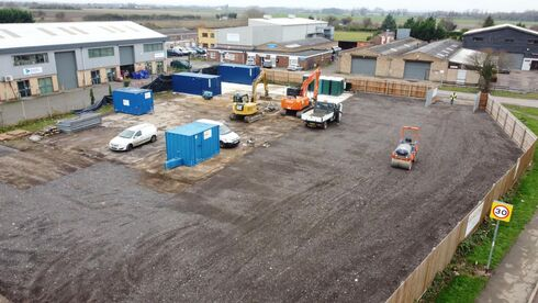 Third depot for Site Equip